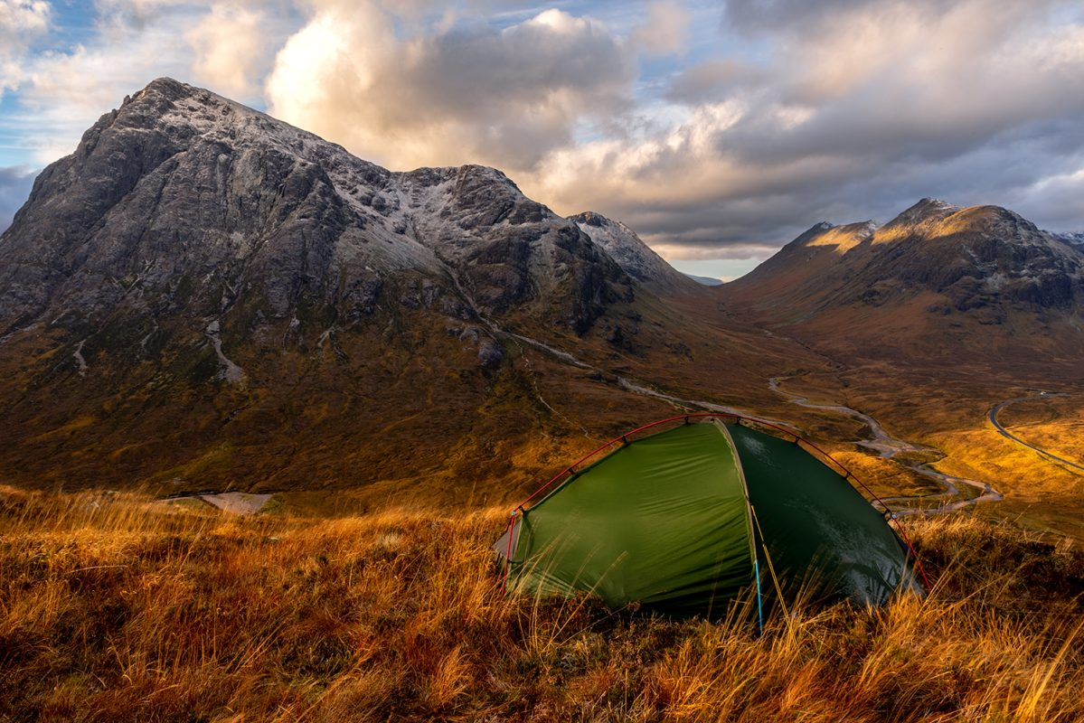 Northern Wild landscape Photography - Glencoe Scotland wild camping