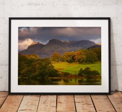 Northern Wild landscape Photography - Langdale Morning, Great Langdales, Lake District UK