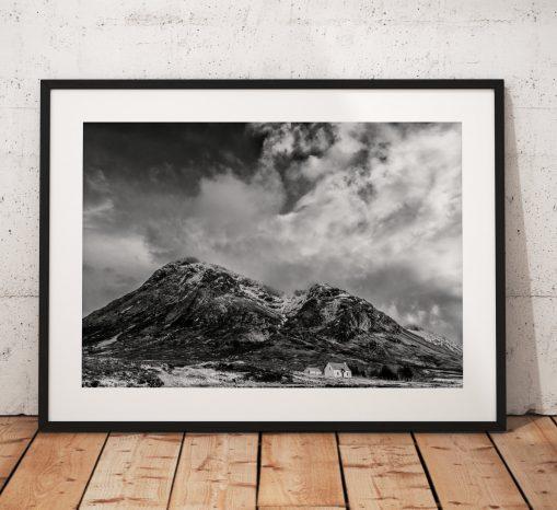 Buachaille Etve Mor mountain, Glencoe photo in the Scottish Highlands.