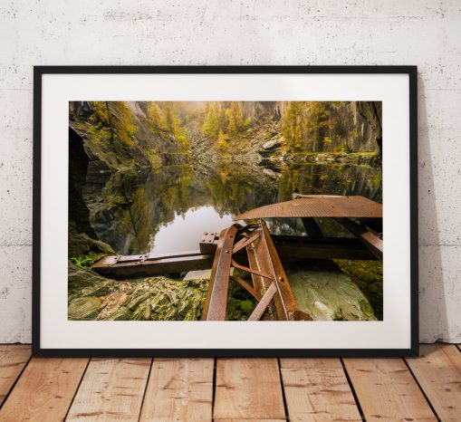 Lake District Landscape Photography, Autumn, Hodge close, Cumbria, England. Landscape Photo. Mounted print. Wall Art.