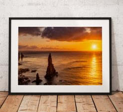 Scotland Landscape photo, Sunrise, Duncansby Stacks, John o Groats, Scotland, Scottish Highlands, Seascape, Nature, Cliffs, Wall Art