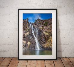 Waterfall Photography, Whorneyside Force, Waterfall, Great Langdale, Lake District, Nature,  England. Landscape Photo. Home Decor